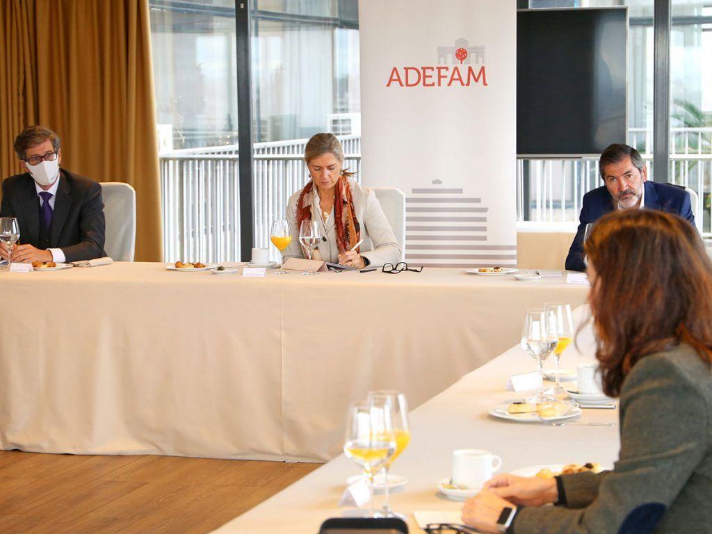 ADEFAM se reúne con las empresas asociadas pertenecientes al sector inmobiliario y de construcción