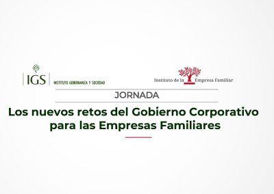 Los nuevos retos del Gobierno Corporativo para las Empresas Familiares