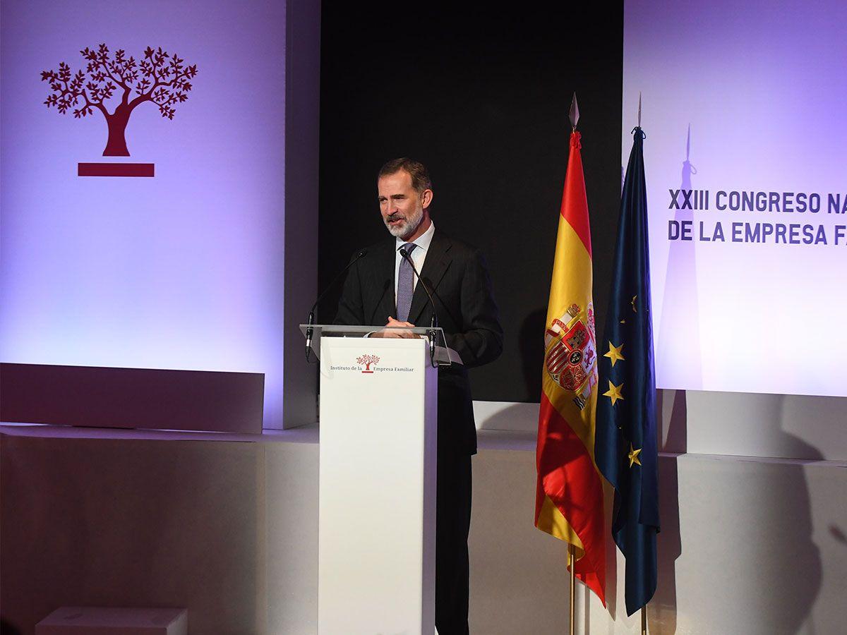 Su-Majestad-el-Rey-Felipe-VI-inaugura-el-XXIII-Congreso-Nacional-de-la-Empresa-Familiar
