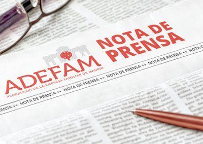 ADEFAM firma un convenio de colaboración con el despacho de abogados CMS Albiñana & Suárez de Lezo