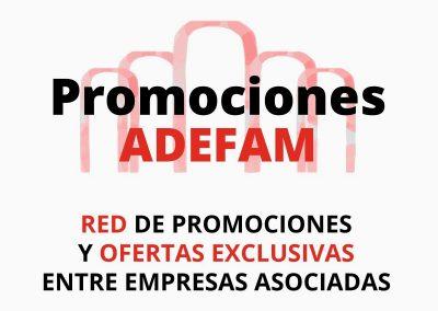 Red de promociones y ofertas exclusivas entre empresas asociadas a ADEFAM